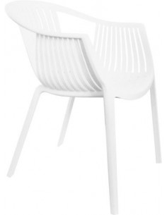 OUTLET Krzesło BASKET Białe