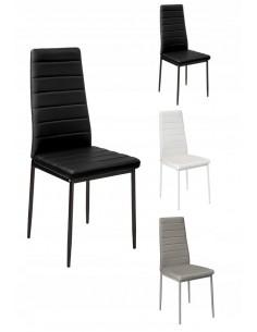 4 krzesła tapicerowane...