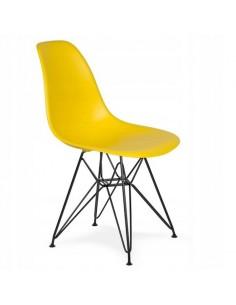 Krzesło DSR żółte Milano...