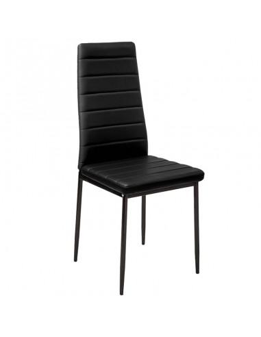 Krzesło Nicea czarne