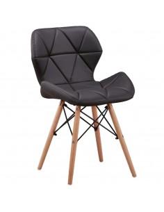 Krzesło ELIOT czarne -...