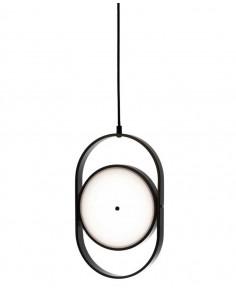 Lampa wisząca SPINNER czarna - LED, aluminium