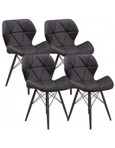 4 x Krzesło ELIOT czarne -...