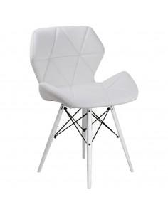 Krzesło ELIOT białe -...