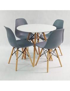 Zestaw stolików TRIO SLIM miedziane