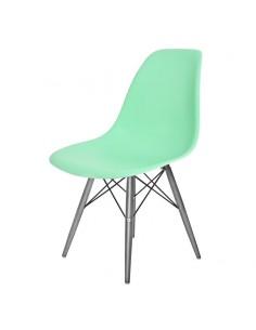 Krzesło DSW Milano miętowe,...