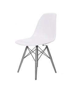 Krzesło DSW Milano białe,...