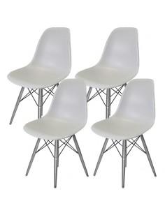 4 krzesła DSW Milano jasno...