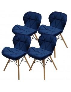 4 krzesła ELIOT VELVET...