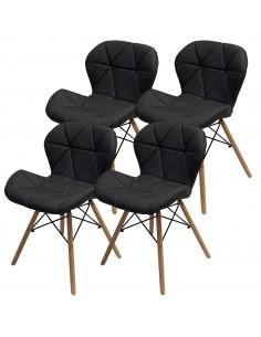 4 krzesła ELIOT FABRIC...
