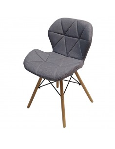 Krzesło ELIOT FABRIC jasny...
