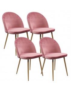 4 krzesła DENWER VELVET...