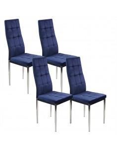 4 krzesła MONAKO VELVET...