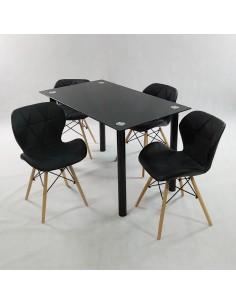 Krzesło EUFORIA Czarne