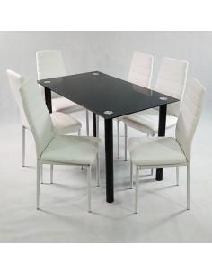 Stolik Marmurowy RGE ACCENT 75x75 biały biały