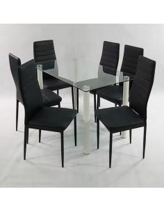 Stolik Marmurowy RGE ACCENT 150x40x38 biały czarny