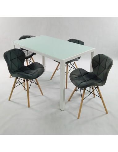 Krzesło DSW Milano CLEAR