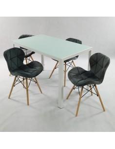 Fotel biurowy COUTURE antyczny szary