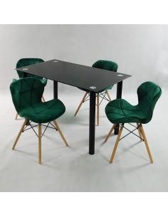 Fotel PASSION biały, ekoskóra - włókno szklane/chrom, outlet