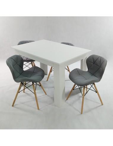 Krzesło CARMEN transparentne outlet - oparcie poliwęglan