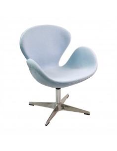 Fotel SWAN błękitny
