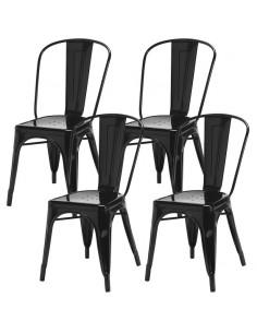 4 krzesła metalowe TOLIX...