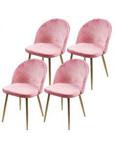4 krzesła DENWER GOLD...