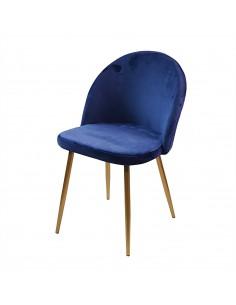 Krzesło DENWER GOLD VELVET...