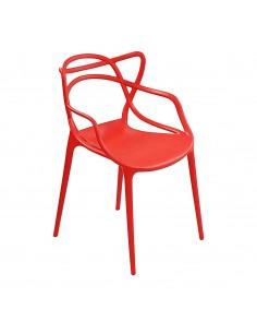 Krzesło MASTER czerwone