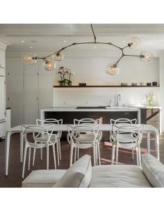 Krzesło NORDEN DSW Białe