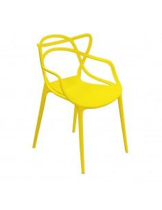 Krzesło MASTER żółte