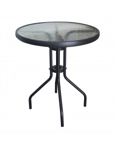 Krzesło DSR BLACK oceaniczny niebieski .25 - podstawa metalowa czarna