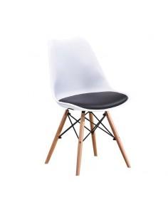 Krzesło NORDEN DSW Białe,...