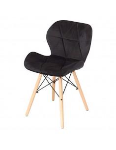 Krzesło ELIOT VELVET czarne...