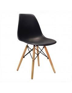 Krzesło DSW Milano czarne