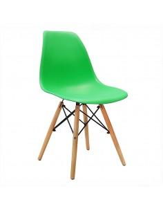 Krzesło DSW Milano zielone
