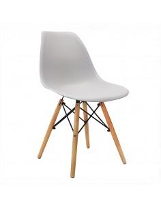 Krzesło DSW Milano jasno szare