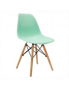 Krzesło DSW Milano miętowe