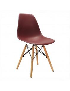 Krzesło DSW Milano brązowe