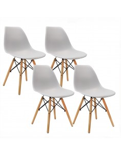 Krzesła DSW Milano jasno...