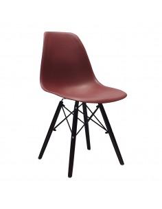 Krzesło DSW Milano brązowe,...