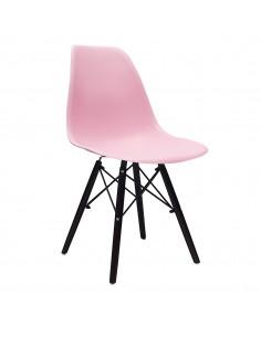 Krzesło DSW Milano różowe,...