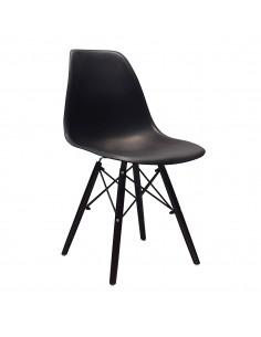 Krzesło DSW Milano czarne,...