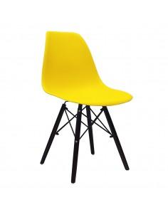 Krzesło DSW Milano żółte,...