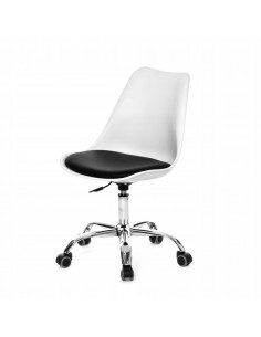 Krzesło Norden Office białe...