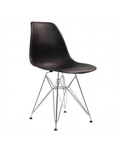Krzesło DSR Milano czarne