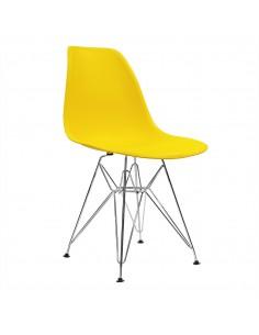 Krzesło DSR Milano żółte