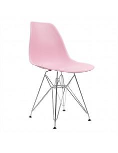 Krzesło DSR Milano różowe
