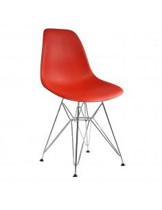 Krzesło DSR Milano czerwone