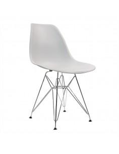 Krzesło DSR Milano jasno szare